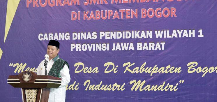 Wagub Jabar Resmikan Program SMK Membangun Desa 1