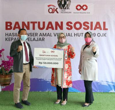 bank bjb Salurkan Bantuan Tabungan SimPel untuk 200 Pelajar dari OJK 1