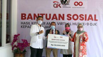 bank bjb Salurkan Bantuan Tabungan SimPel untuk 200 Pelajar dari OJK 2