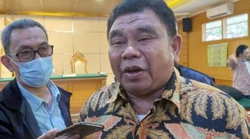Dadang Suganda usai sidang di PN Tipikor Bandung Selasa 25 Mei 2021 foto DRY
