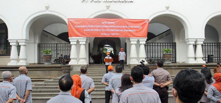 Jelang Lebaran Pos Indonesia Siaga Nasional Komando RAFI 2021 1
