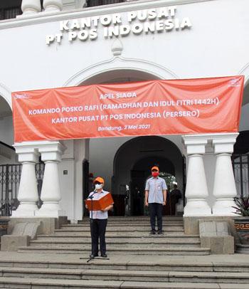 Jelang Lebaran Pos Indonesia Siaga Nasional Komando RAFI 2021 2