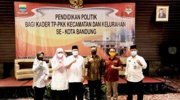 Kader PKK Kota Bandung Dapat Pendidikan Politik