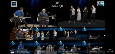 Nostalgia Musik 90 an dalam Konser 7 Ruang bankbjb