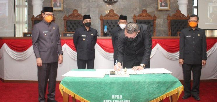 Pansus Apresiasi WTP yang Diraih Pemkot Sukabumi