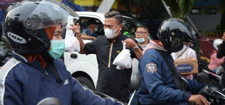 Uchi Qolby Terima Kasih Ketua PWI Kota Bandung