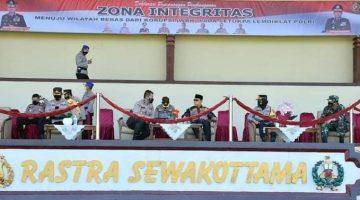 Walikota Sukabumi Apresiasi Deklarasi Zona Integritas Pada Setukpa Lemdiklat Polri