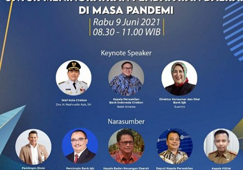bank bjb Cabang Cirebon Gelar Webinar Dukungan Digitalisasi bank bjb untuk Meningkatkan Pendapatan Daerah di Masa Pandemi