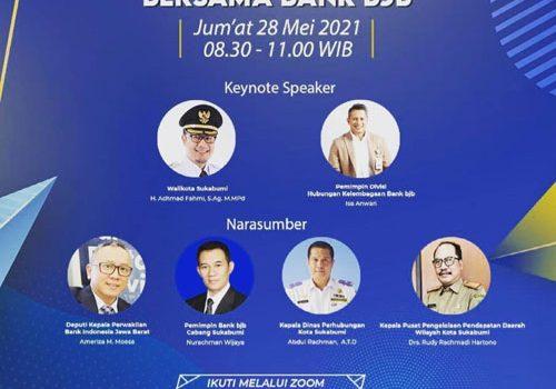 bank bjb Cabang Sukabumi Gelar Webinar Optimalisasi Pendapatan Daerah melalui Digitalisasi Perbankan