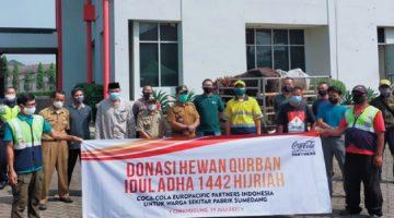 Idul Adha 1442H CCEP Indonesia Berkurban di Sek