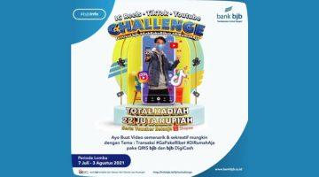 Ikuti Challenge Festival bjb GakPakeRibet DiRumahAja Berhadiah Total Rp22 Juta