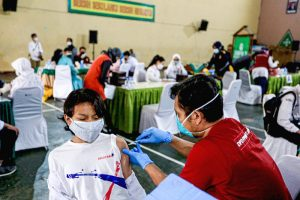 Kota Bandung Mulai Gelar Vaksinasi Covid19 Usia 12 17 Tahun