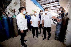 Oded Pastikan Kebutuhan Oksigen Rumah Sakit di Kota Bandung Aman