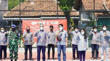 Optimalkan Vaksinasi Satgas Covid BBWS Cimancis Gandeng RS Ciremai Cirebon 2