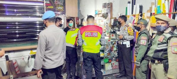PPKM Darurat Patroli Gabungan Digencarkan Imbau Warga Sukabumi Disiplin Prokes