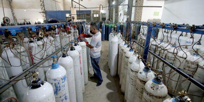 Pastikan Kebutuhan Oksigen Rumah Sakit di Kota Bandung Aman