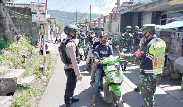 Percepat Penanganan Covid 19 Sinergritas TNI Polri Terus Berupaya Imbau Prokes Kepada Masyarakat