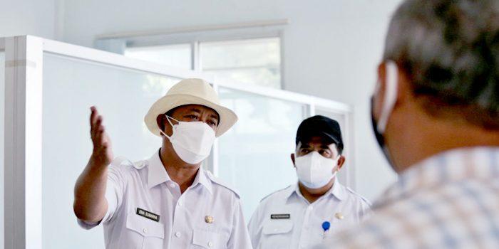 Tempat isoman itu disiapkan untuk pasien terkonfirmasi positif Covid