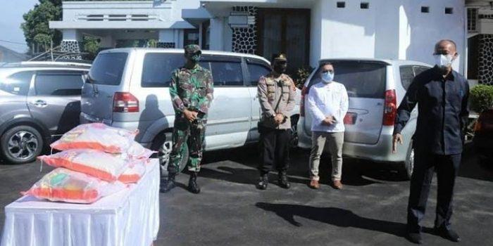 Terdampak PPKM Darurat Forkopimda Kota Sukabumi