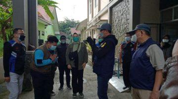 Terdampak PPKM Dinsos Kota Sukabumi Salurkan Ban